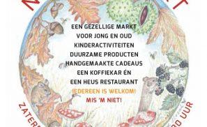 Najaarsmarkt van 10.30 tot 15.30 uur!